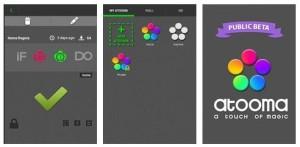 Atooma - приложение для автоматизации действий мобильного устройства