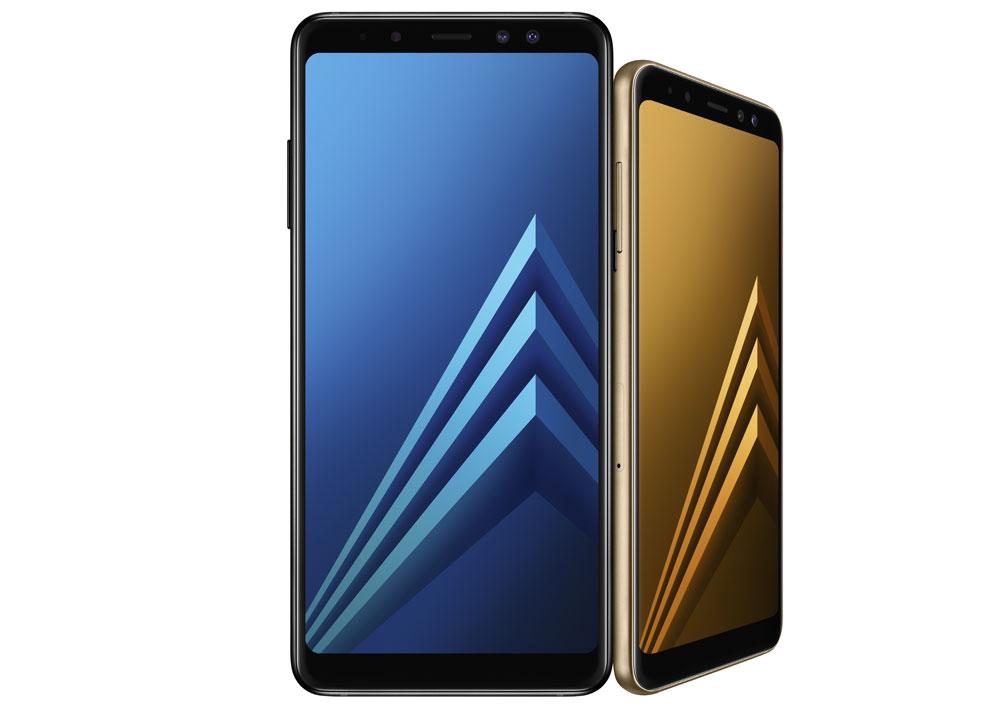 Смартфоны Samsung Galaxy A8 (2018) и Galaxy A8+ (2018) получили двойную селфи-камеру