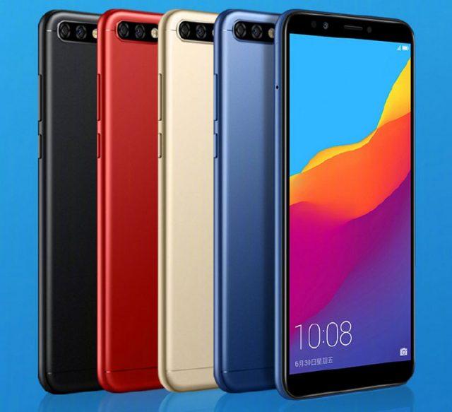Huawei Honor 7C – безрамочный смартфон с двойной камерой по цене менее $150