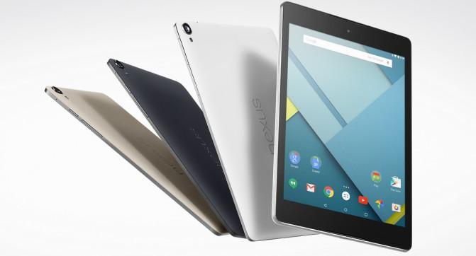 Google Nexus 9 - первый планшет на базе Android 5.0