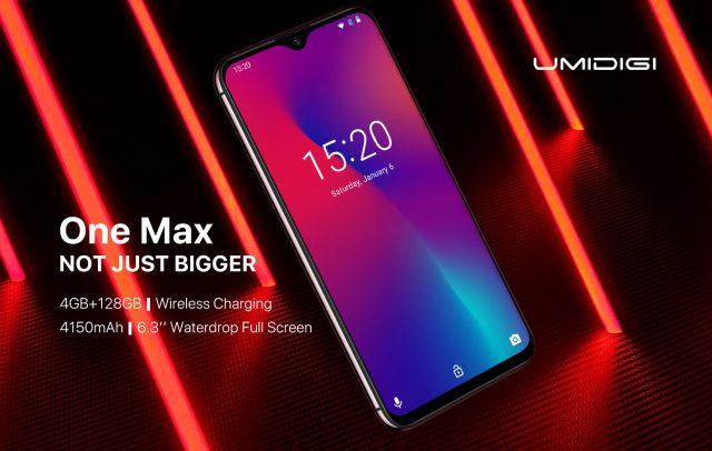 UMIDIGI One Max – Смартфон среднего класса с увеличенными памятью, дисплеем и батареей
