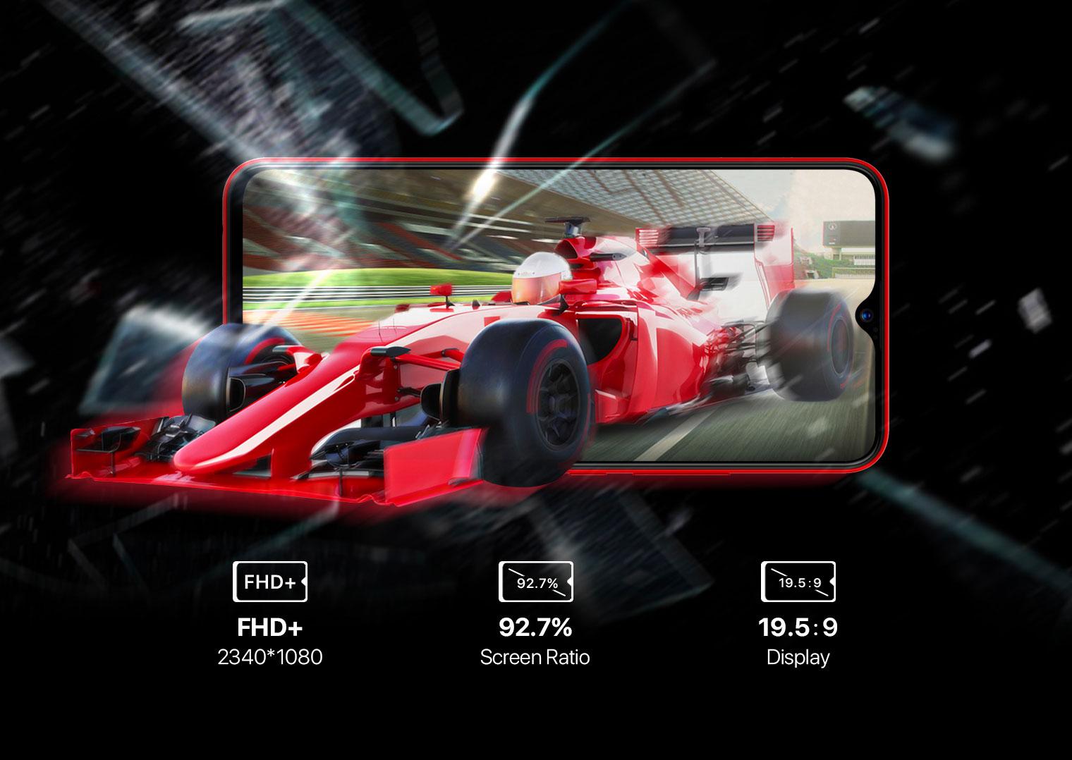 Хороший смартфон среднего класса UMIDIGI F1 - характеристики, цена, отзывы