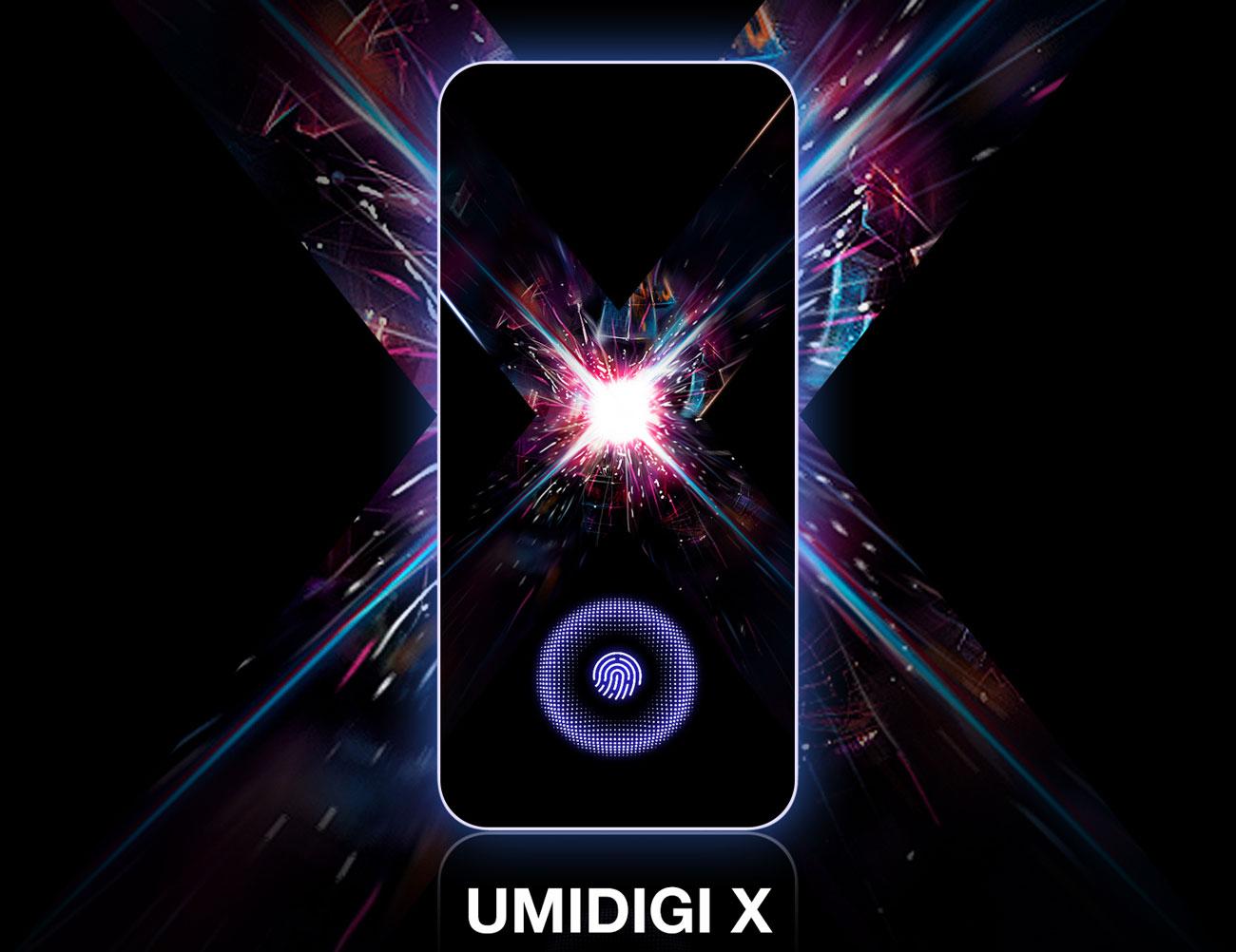 UMIDIGI X – флагманский смартфон с OLED экраном и выдвижной камерой