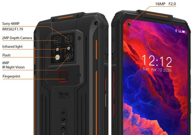 OUKITEL WP7 – Защищённый смартфон с NFC и большой батареей по цене $300