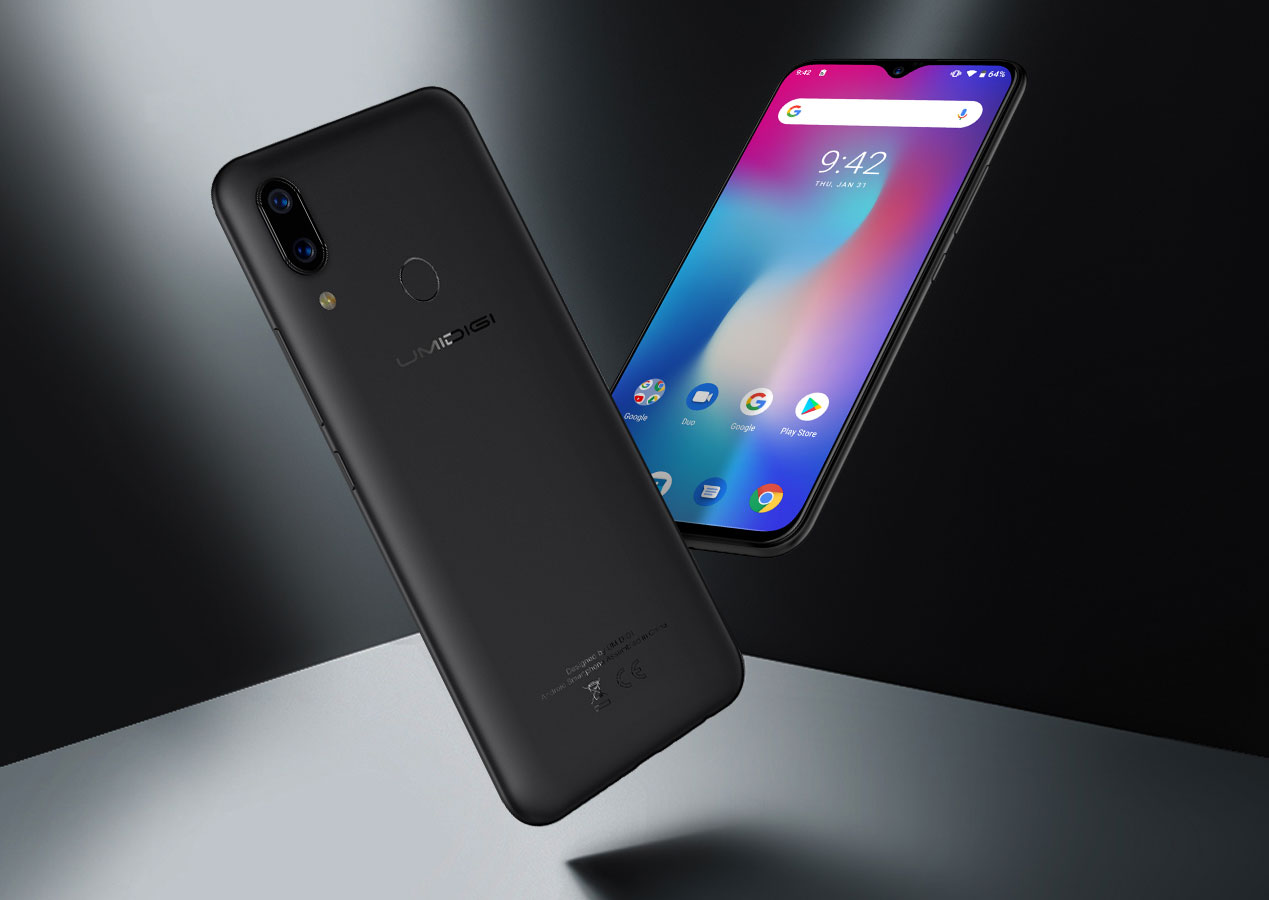 UMIDIGI Power – Смартфон с большой батареей и автономностью 3 дня