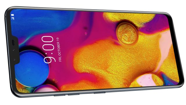 LG V40 ThinQ – Новый флагманский смартфон LG с 5 камерами и ценой $900