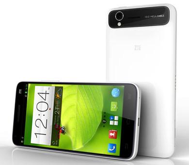 ZTE анонсировала тонкий смартфон Grand S